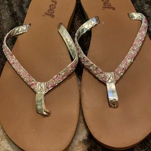 Sparkly Reef Flipflops